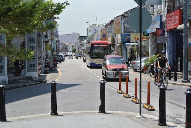 世界遺産の街、ジョージタウン、散策、観光、便利、乗り物