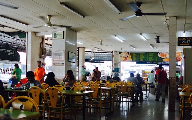 ペナン、ジョージタウン、本場、インド料理、楽しむ