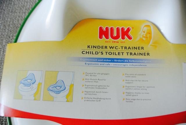 ドイツ、ヌーク、子供用便座、トイレトレーニング開始
