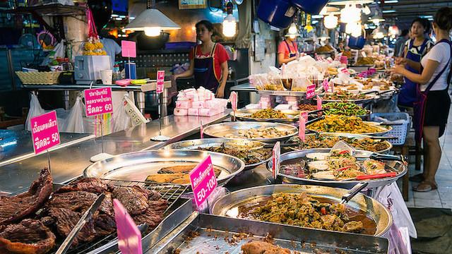 タイの魅力、屋台料理、街から消える、裏側