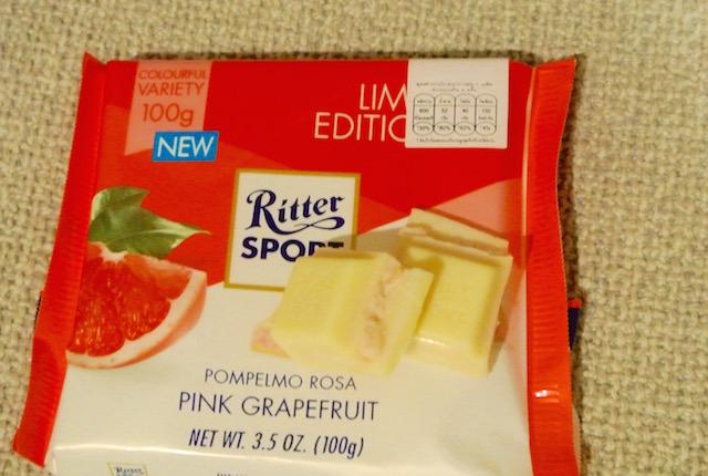 ホワイトチョコ好き、必見、リッタースポーツ、ピンクグレープフルーツ、アソート