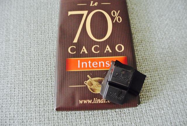 リンツ、キュイジニエ・ル70%、お菓子作り