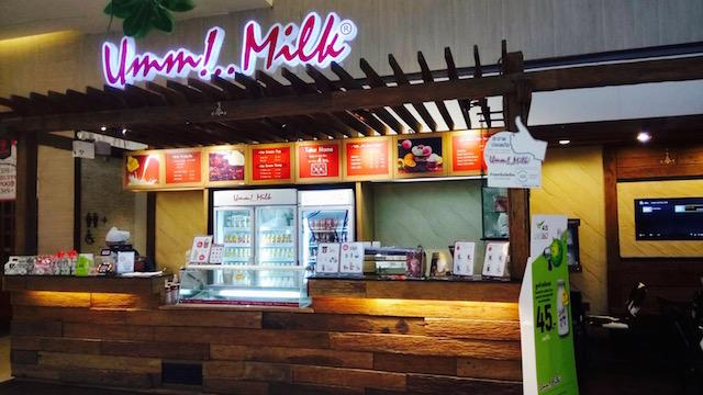 チョクチャイ牧場、ミルク、バンコク、ウー!ミルク、セントラルワールド
