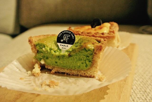 レア食感、チーズタルト、パブロ、サイアムパラゴン店
