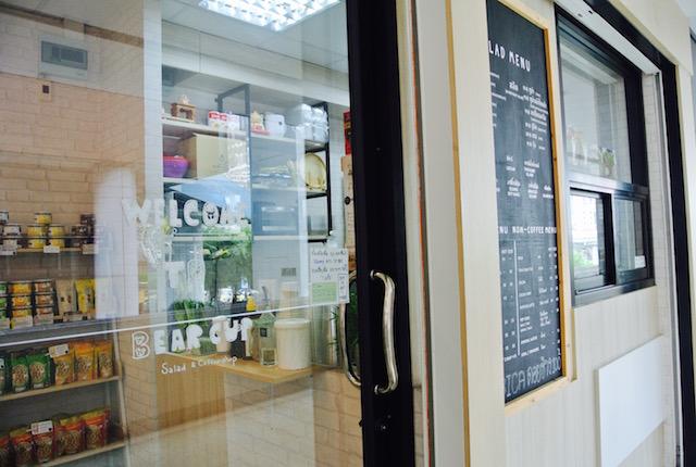 日本人会本館、近く、癒し系カフェ、ベアーカップ