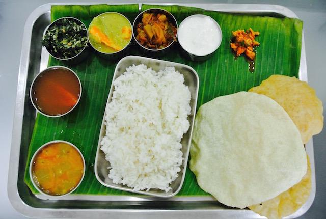 インド、懐かしく感じる、ベジタリアン、お店、チェンナイキッチン