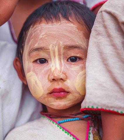 生産者と対等、ミャンマー、美しい素材、テキスタイル、モリンガ