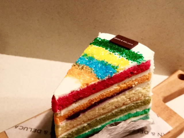 インスタグラム、ケーキ、ディーンアンドデルーカ、バンコク