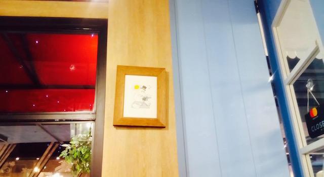 まるで絵本の世界、サイアムセンター、ムーミンカフェ