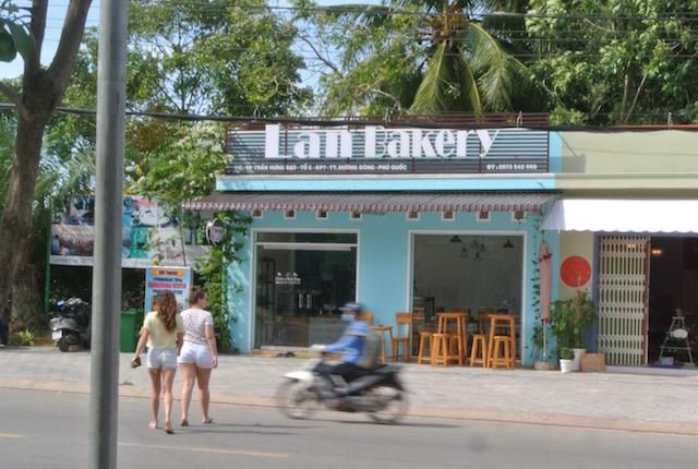 ベトナム、フーコック島、お洒落カフェ、ラン・ベーカリー