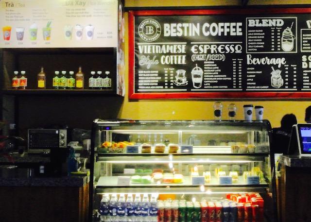 フーコック島、スタバ、ベスティンコーヒー、デイリー、カフェ