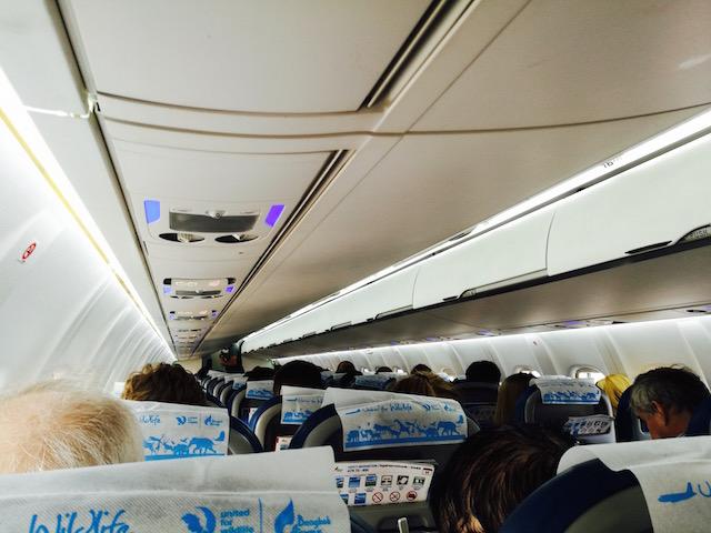 年末年始 子連れで飛行機の移動 バンコク・エアウェイズ