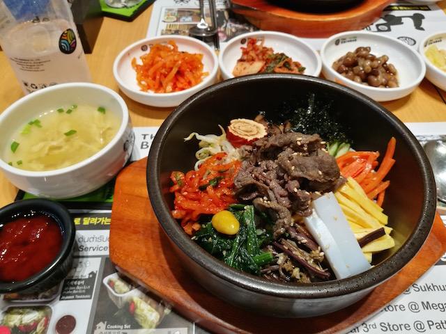 ボリューム満点、ヘルシー、韓国料理、ザ・ビビンバブ、エムクオーティエ