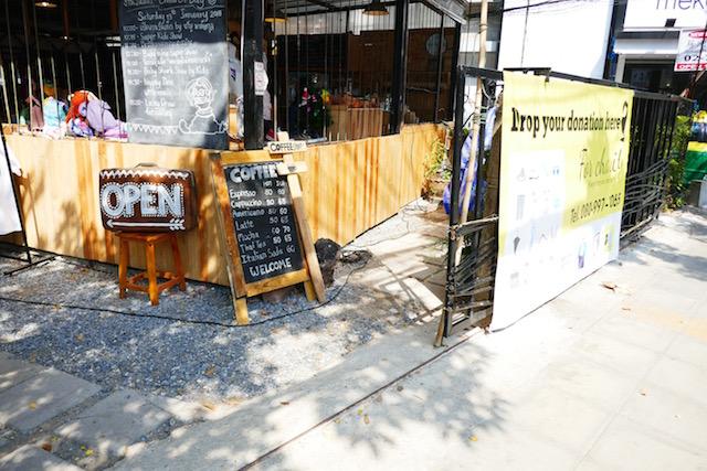 子連れ同士で行ける、トンロー、ガーデンカフェ、Suan Kruangoon