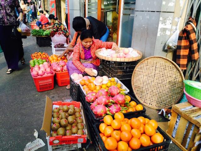 次の旅行先、ミャンマー、ヤンゴン、スナップ