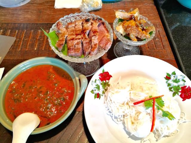 タイ、西洋、クロスオーバー、レストラン、スパンニガー、サトーン10