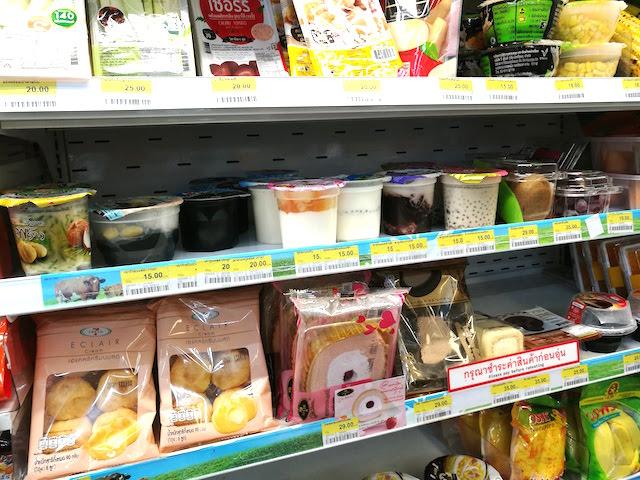 タイ、セブン、新登場、バニラフレーバーミニロールケーキ