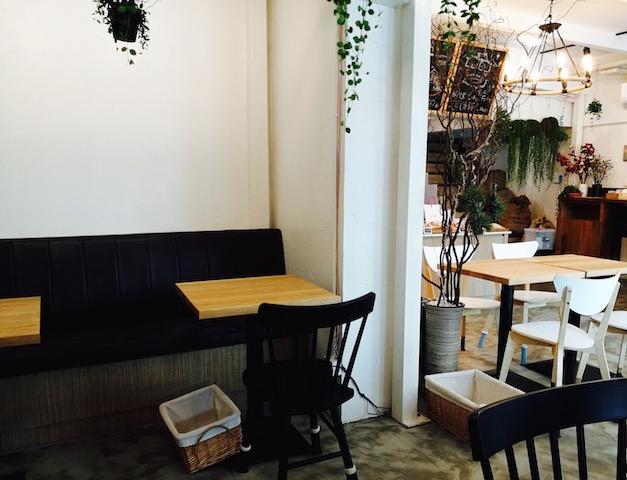 プロンポン駅近く、新店、自家焙煎珈琲店茶庵、はかた珈琲