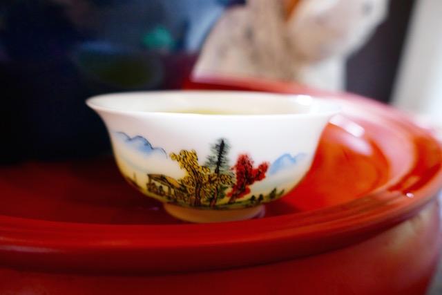 静か、中国茶屋、一休み、チャイナタウン、ダブルドックティールーム