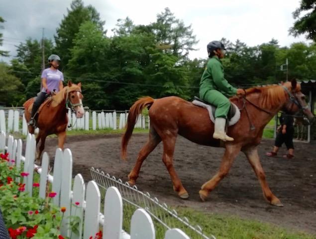 GW、夏休み、親子、乗馬体験、浅間牧場