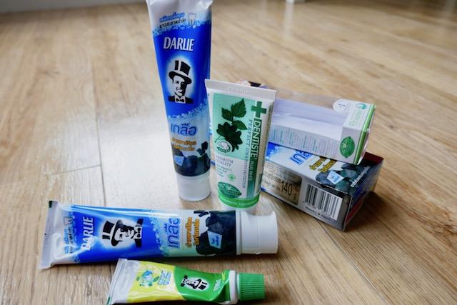 世界クオリティ、タイ、優秀、歯磨き粉、お土産