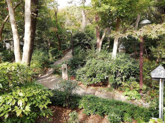 品川、自然豊か、お散歩スポット、御殿山庭園